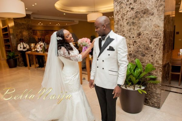 Fola Ayoola & Akin Eso of WED Magazine White Wedding - January 2013 - BellaNaija012