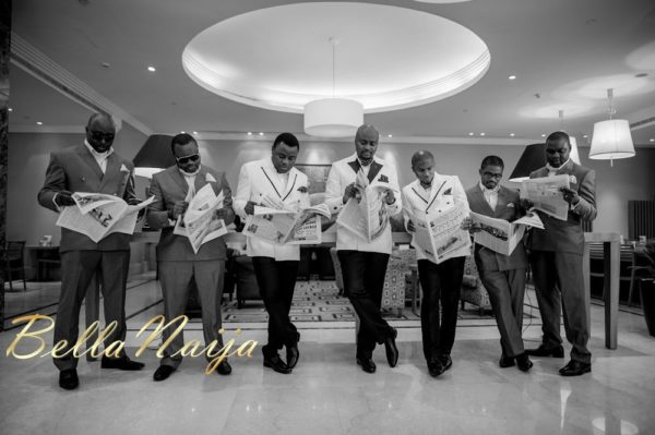 Fola Ayoola & Akin Eso of WED Magazine White Wedding - January 2013 - BellaNaija014