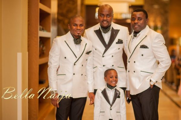 Fola Ayoola & Akin Eso of WED Magazine White Wedding - January 2013 - BellaNaija021