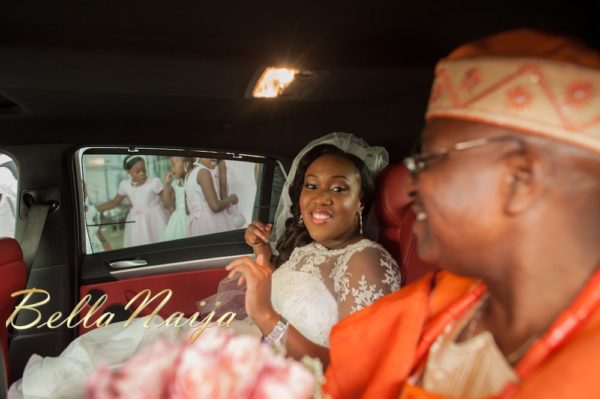 Fola Ayoola & Akin Eso of WED Magazine White Wedding - January 2013 - BellaNaija024