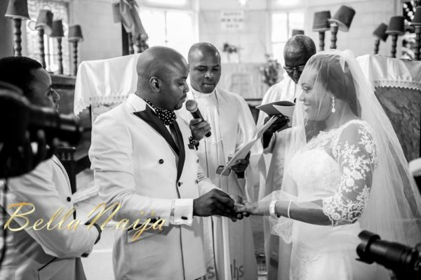 Fola Ayoola & Akin Eso of WED Magazine White Wedding - January 2013 - BellaNaija030