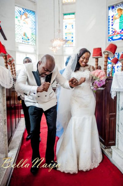 Fola Ayoola & Akin Eso of WED Magazine White Wedding - January 2013 - BellaNaija033