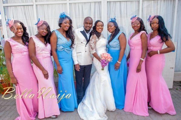 Fola Ayoola & Akin Eso of WED Magazine White Wedding - January 2013 - BellaNaija042