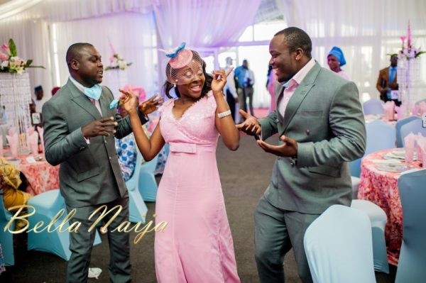 Fola Ayoola & Akin Eso of WED Magazine White Wedding - January 2013 - BellaNaija044