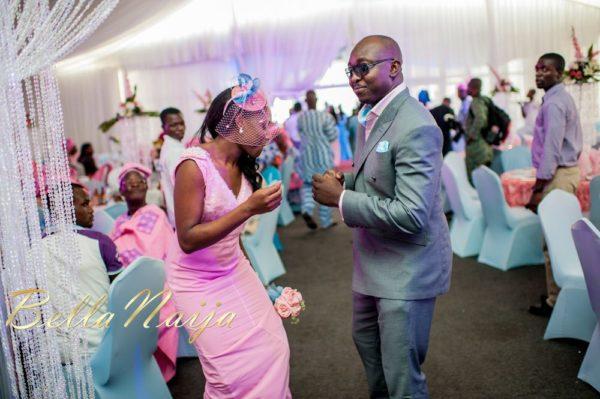 Fola Ayoola & Akin Eso of WED Magazine White Wedding - January 2013 - BellaNaija046