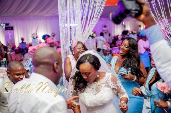 Fola Ayoola & Akin Eso of WED Magazine White Wedding - January 2013 - BellaNaija053