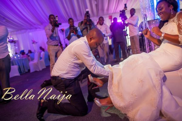 Fola Ayoola & Akin Eso of WED Magazine White Wedding - January 2013 - BellaNaija059