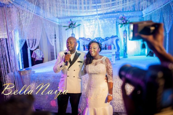 Fola Ayoola & Akin Eso of WED Magazine White Wedding - January 2013 - BellaNaija060
