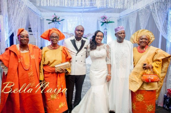 Fola Ayoola & Akin Eso of WED Magazine White Wedding - January 2013 - BellaNaija061