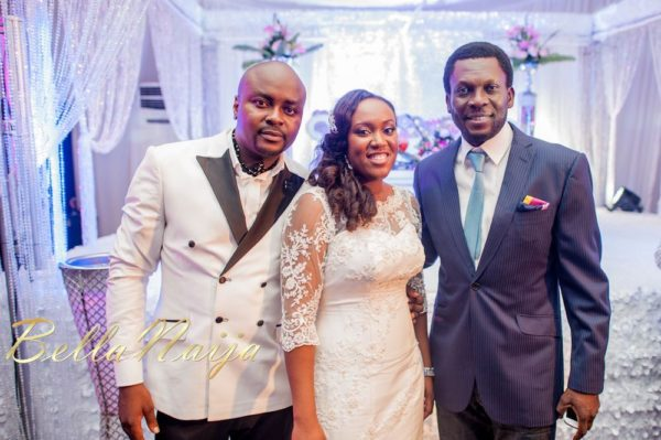 Fola Ayoola & Akin Eso of WED Magazine White Wedding - January 2013 - BellaNaija062