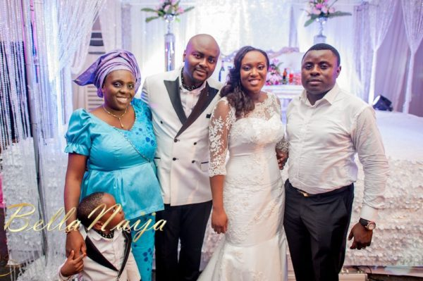 Fola Ayoola & Akin Eso of WED Magazine White Wedding - January 2013 - BellaNaija063