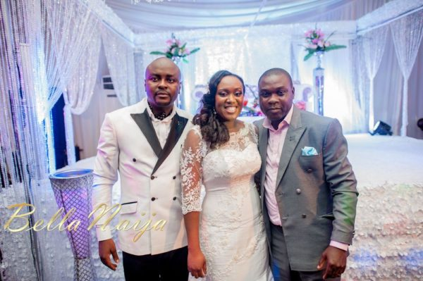 Fola Ayoola & Akin Eso of WED Magazine White Wedding - January 2013 - BellaNaija064