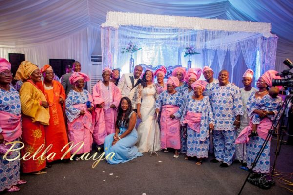 Fola Ayoola & Akin Eso of WED Magazine White Wedding - January 2013 - BellaNaija065
