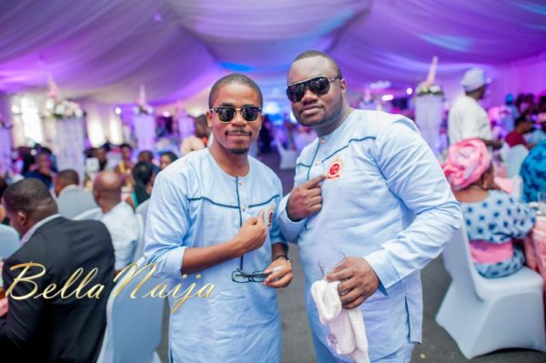 Fola Ayoola & Akin Eso of WED Magazine White Wedding - January 2013 - BellaNaija070