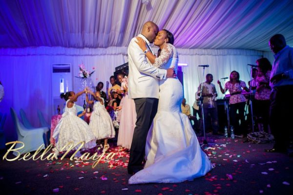 Fola Ayoola & Akin Eso of WED Magazine White Wedding - January 2013 - BellaNaija073