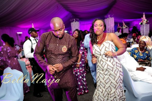 Fola Ayoola & Akin Eso of WED Magazine White Wedding - January 2013 - BellaNaija076