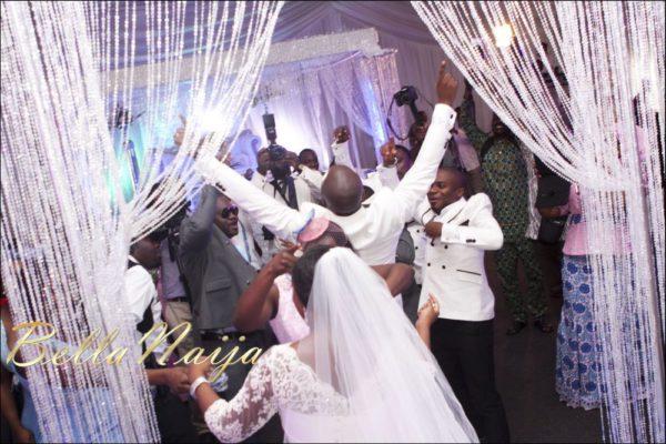 Fola Ayoola & Akin Eso of WED Magazine White Wedding - January 2013 - BellaNaija083