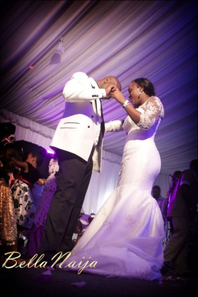 Fola Ayoola & Akin Eso of WED Magazine White Wedding - January 2013 - BellaNaija084