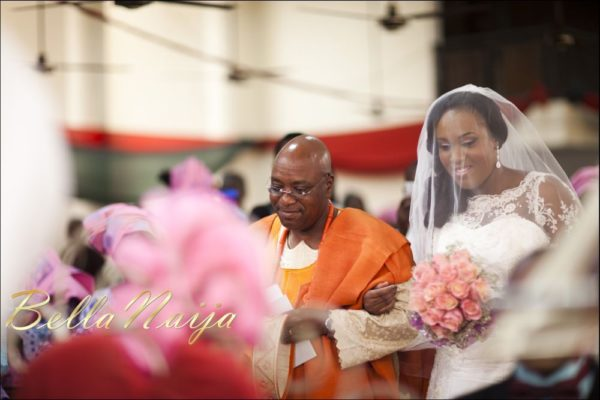 Fola Ayoola & Akin Eso of WED Magazine White Wedding - January 2013 - BellaNaija095
