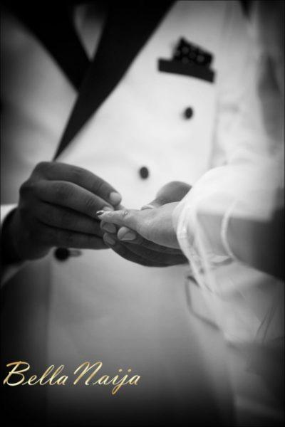 Fola Ayoola & Akin Eso of WED Magazine White Wedding - January 2013 - BellaNaija096