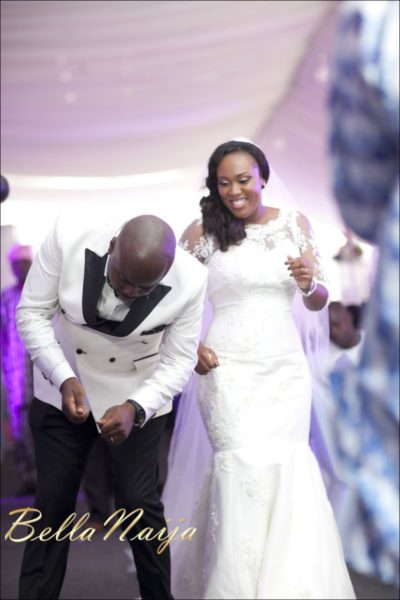 Fola Ayoola & Akin Eso of WED Magazine White Wedding - January 2013 - BellaNaija097