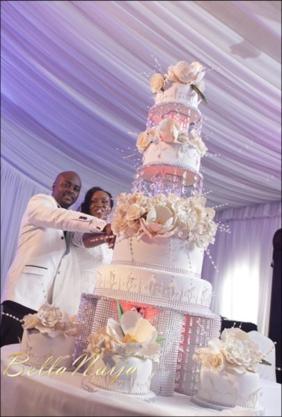 Fola Ayoola & Akin Eso of WED Magazine White Wedding - January 2013 - BellaNaija098