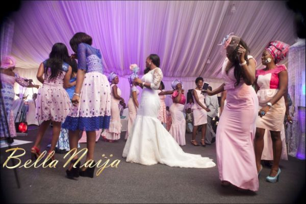 Fola Ayoola & Akin Eso of WED Magazine White Wedding - January 2013 - BellaNaija099