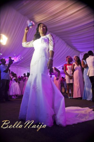 Fola Ayoola & Akin Eso of WED Magazine White Wedding - January 2013 - BellaNaija100