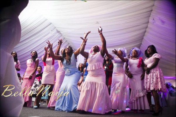 Fola Ayoola & Akin Eso of WED Magazine White Wedding - January 2013 - BellaNaija101
