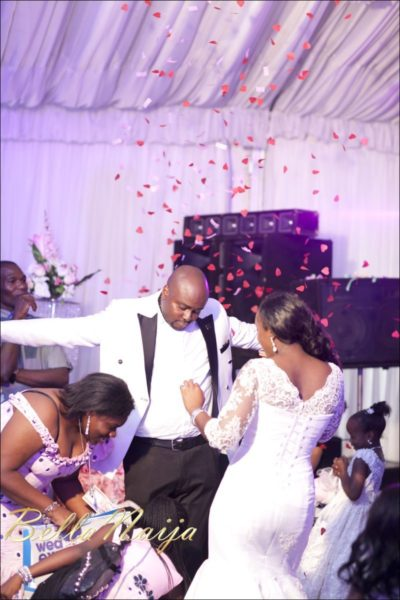 Fola Ayoola & Akin Eso of WED Magazine White Wedding - January 2013 - BellaNaija107