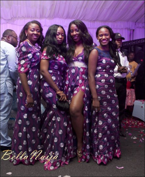 Fola Ayoola & Akin Eso of WED Magazine White Wedding - January 2013 - BellaNaija121
