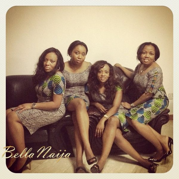 Genevieve Nnaji with BFFs in St. Genevieve - January 2013 - BellaNaija002