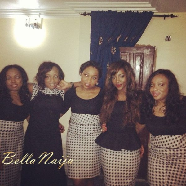 Genevieve Nnaji with BFFs in St. Genevieve - January 2013 - BellaNaija004