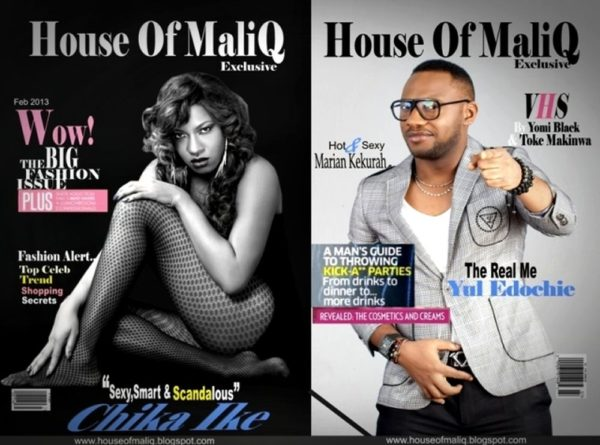 House of MaliQ Feb 2013 Chika Ike & Yul Edochie - January 2013 - BellaNaija001
