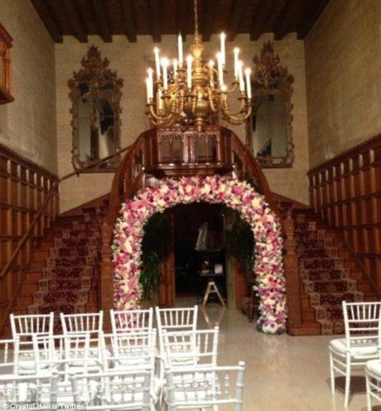 Hugh Hefner Crystal Harris Wedding  - January 2013 - BellaNaija002