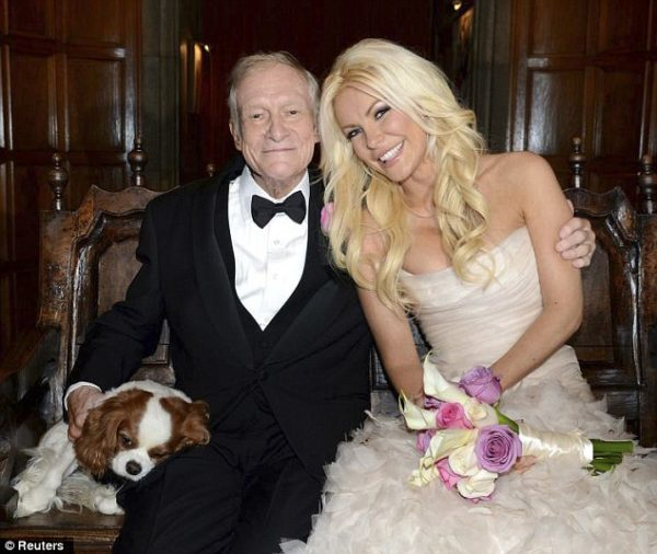 Hugh Hefner Crystal Harris Wedding  - January 2013 - BellaNaija003