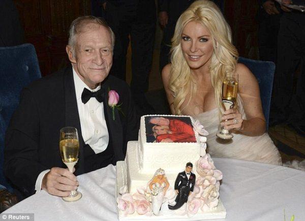 Hugh Hefner Crystal Harris Wedding  - January 2013 - BellaNaija006