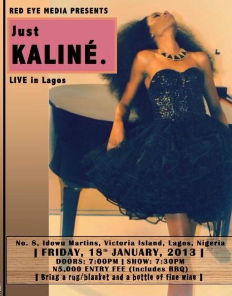 Just Kaline LIVE in Lagos