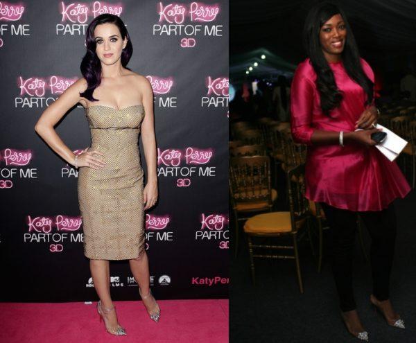 Katy Perry & Elohor Aisien
