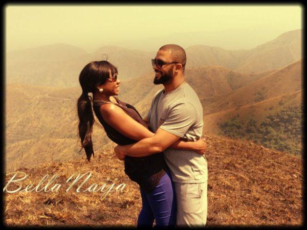Kevin Lucciano Gabriel Mariah Mogoli Engaged - January 2013 - BellaNaija002