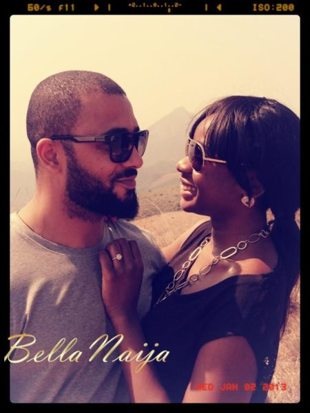 Kevin Lucciano Gabriel Mariah Mogoli Engaged - January 2013 - BellaNaija003