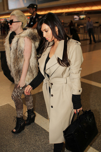 Kim & Friend at LAX