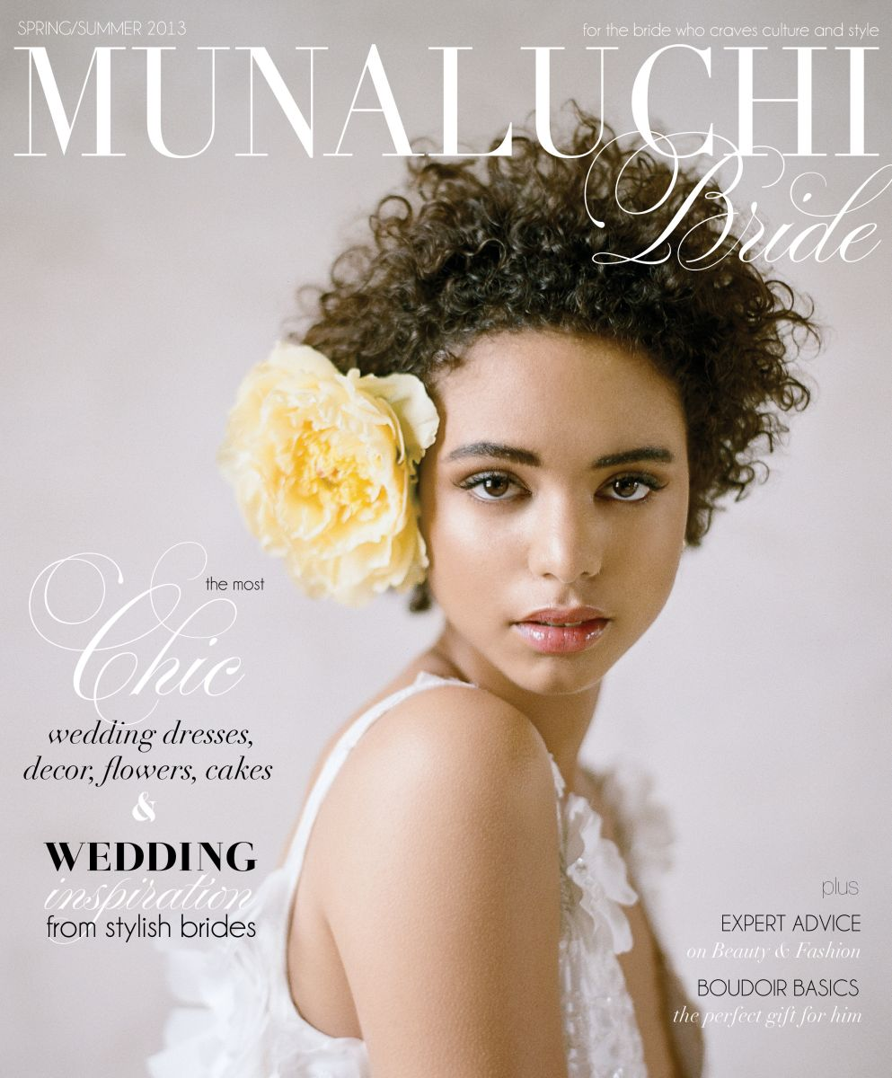 Munaluchi Bride Magazine Presents Its Spring/Summer 2013