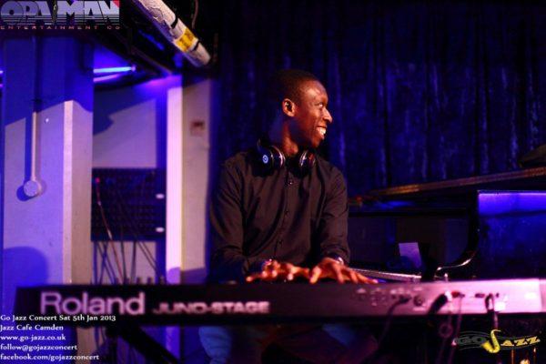 Musiqmind (Michael Opayinka) Go Jazz Band Coordinator and MD