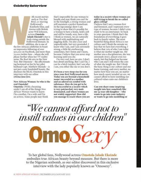 New African Woman Magazine 2013 - January 2013 - BellaNaija011