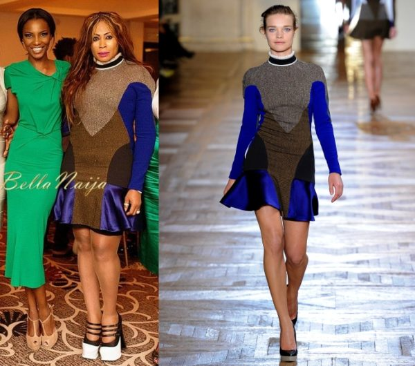 Nkiru Anumudu in Stella McCartney