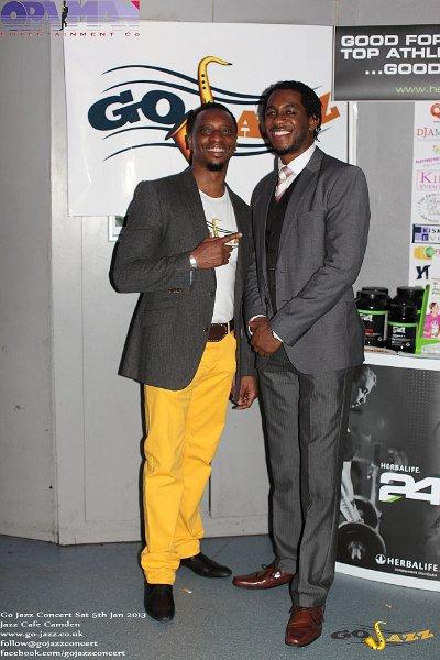 Oladapo and Nathaniel (Leader Empirical Music Band)