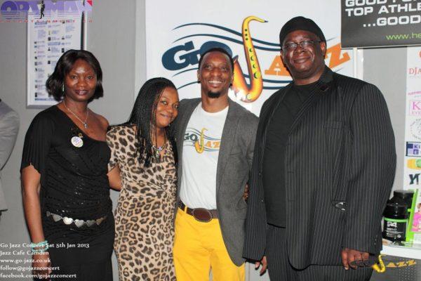 Oladapo and Temitope Opayinka with Mr and Mrs Ademola Ajilogba (HERBALIFE UK)