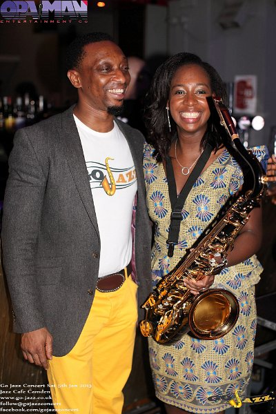 Oladapo and YolanDa Brown