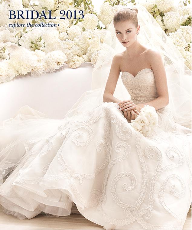 Oscar Dela Renta Wedding Gown: BN Bridal: Oscar De La Renta Bridal